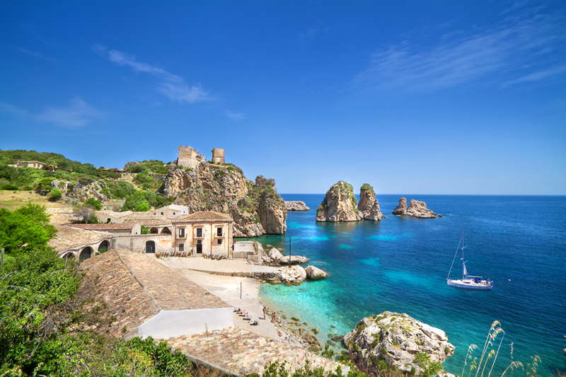 Tonnara di Scopello, Sicilia